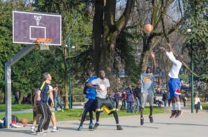 Parco Sempione - basket