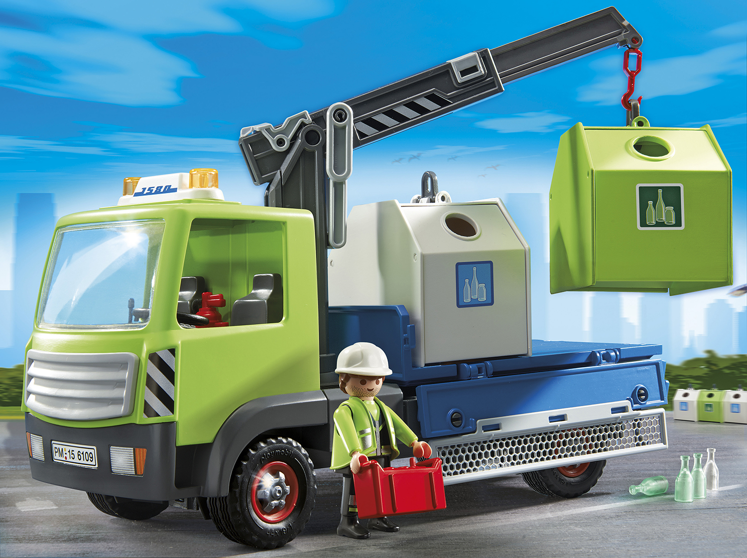 PLAYMOBIL_6109_Glass Sorting Truck