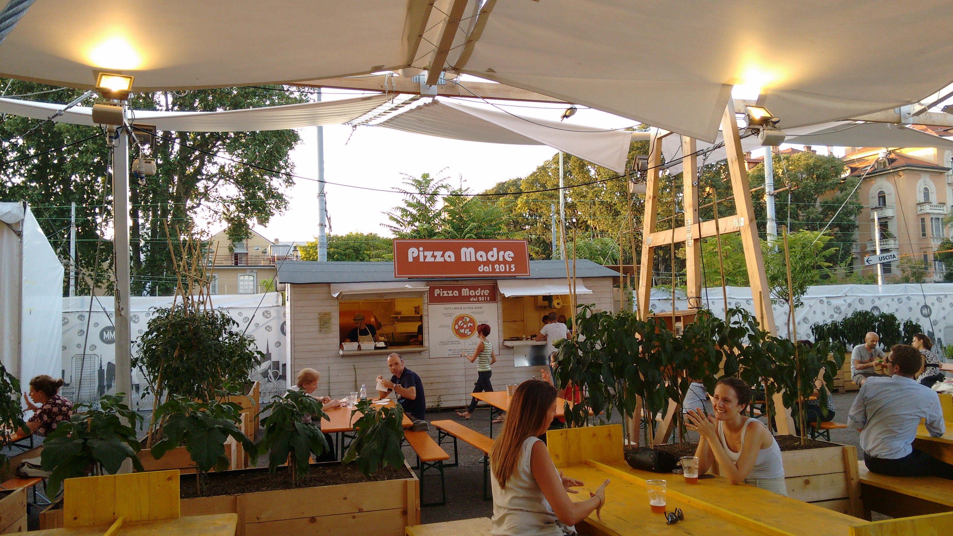 Mercato Metropolitano pizza