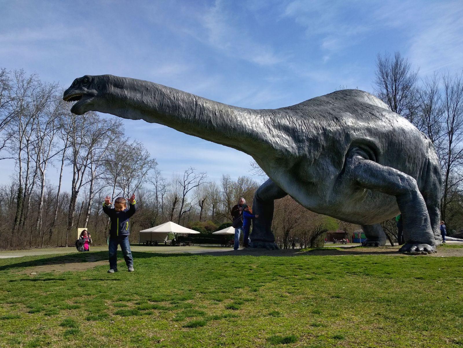 Parco della preistoria Brontosauro