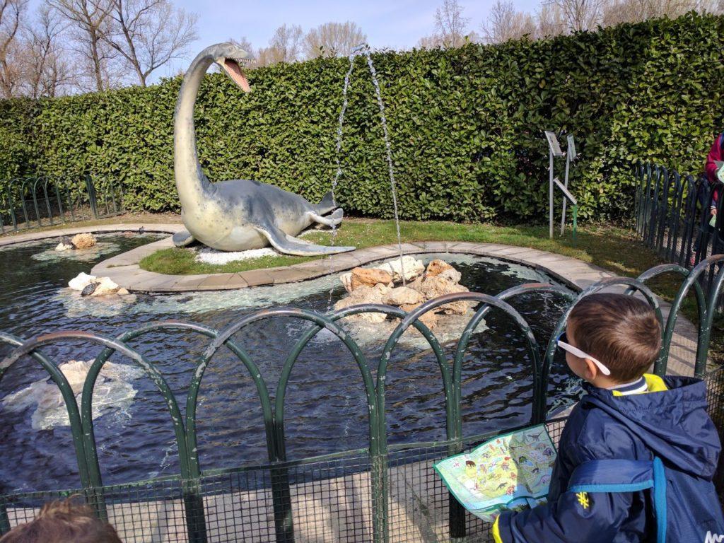 Parco della Preistoria Plesiosauro