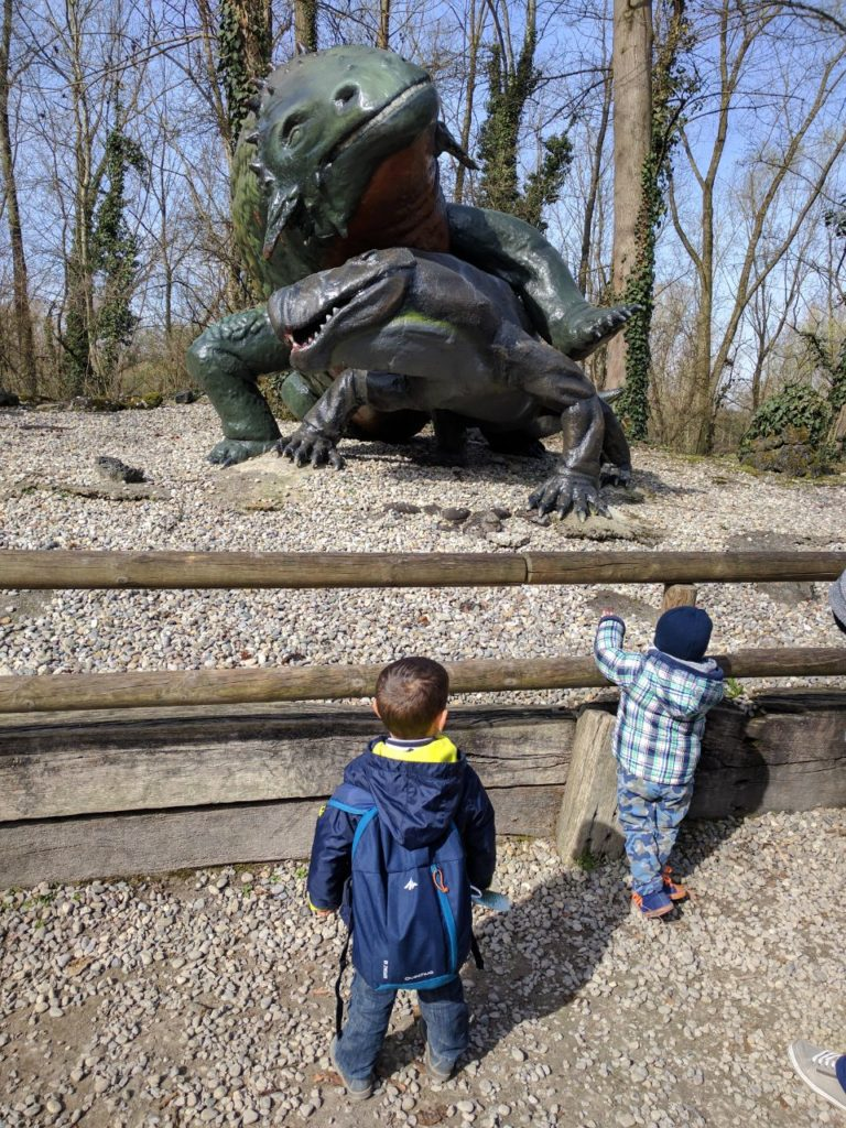 Parco della Preistoria dinosauri