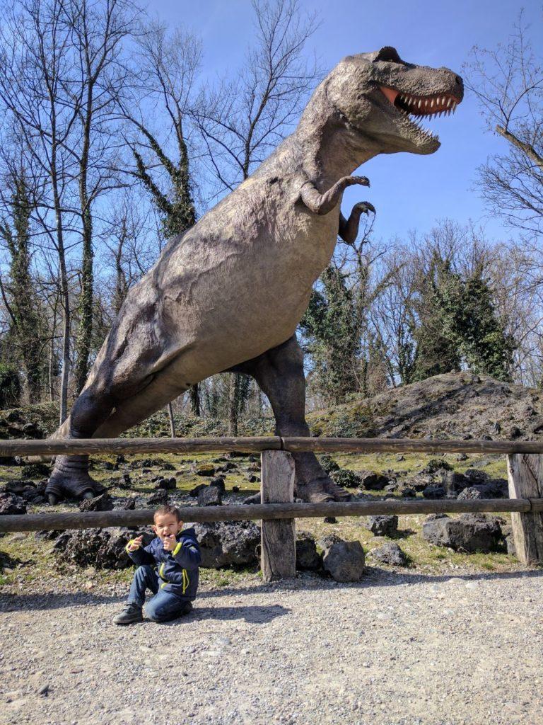 Parco della Preistoria Tirannosauro