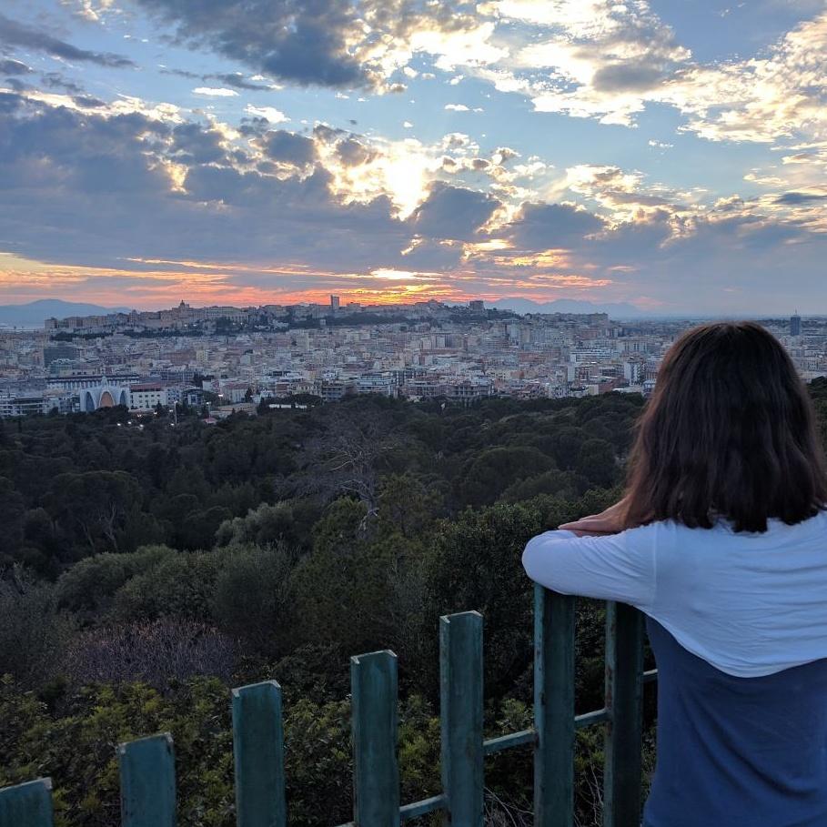 Perfezione tramonto Cagliari