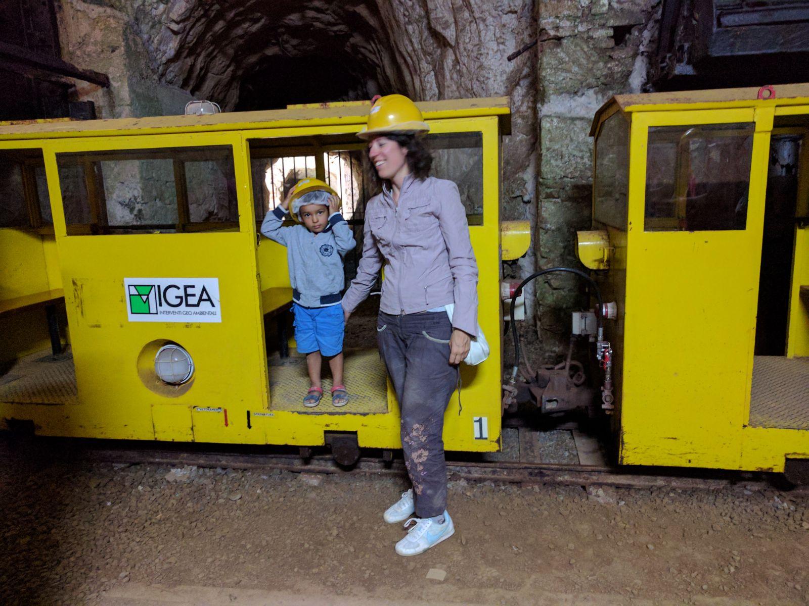 Miniera bambini Sardegna