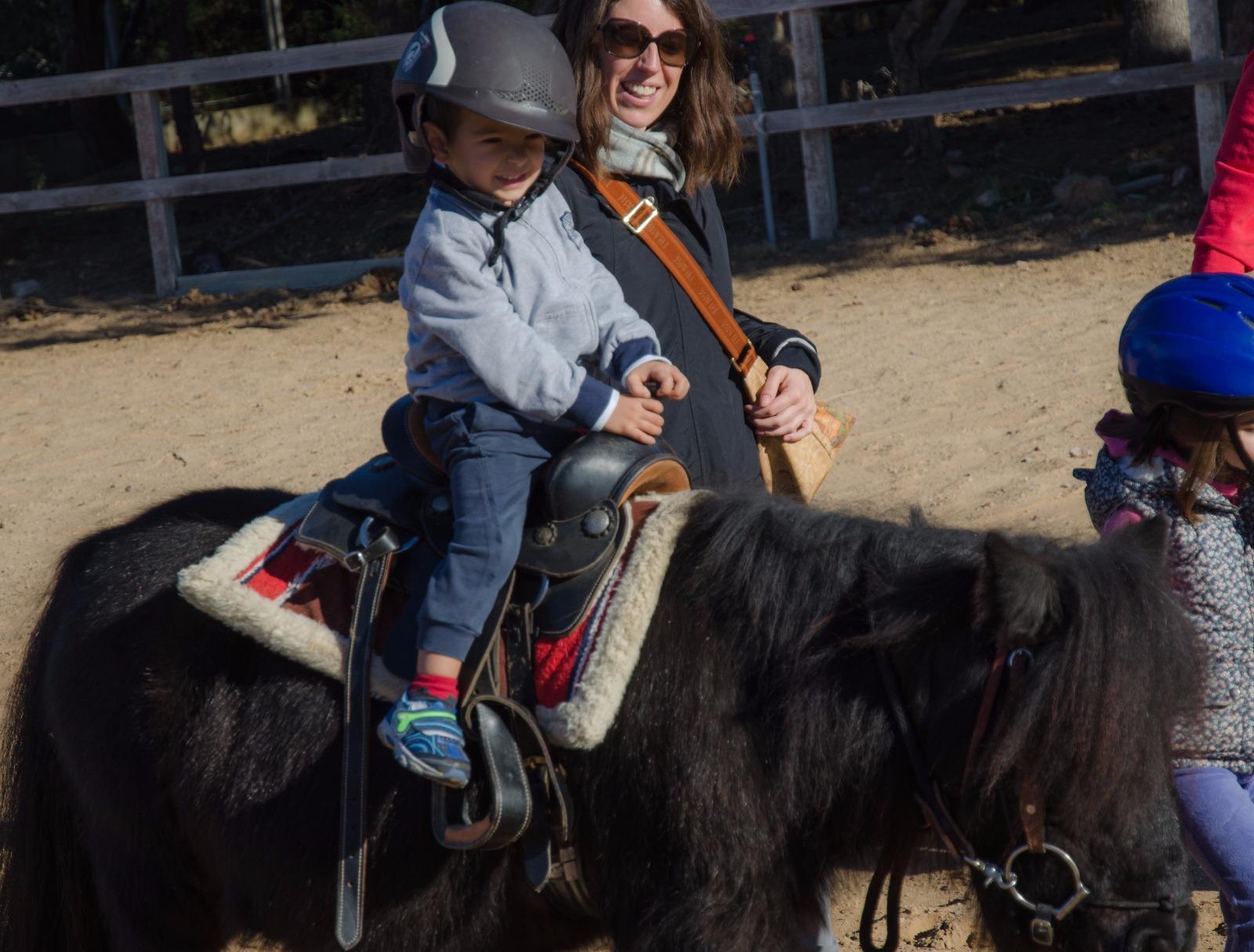 Cavallo bambini Sardegna
