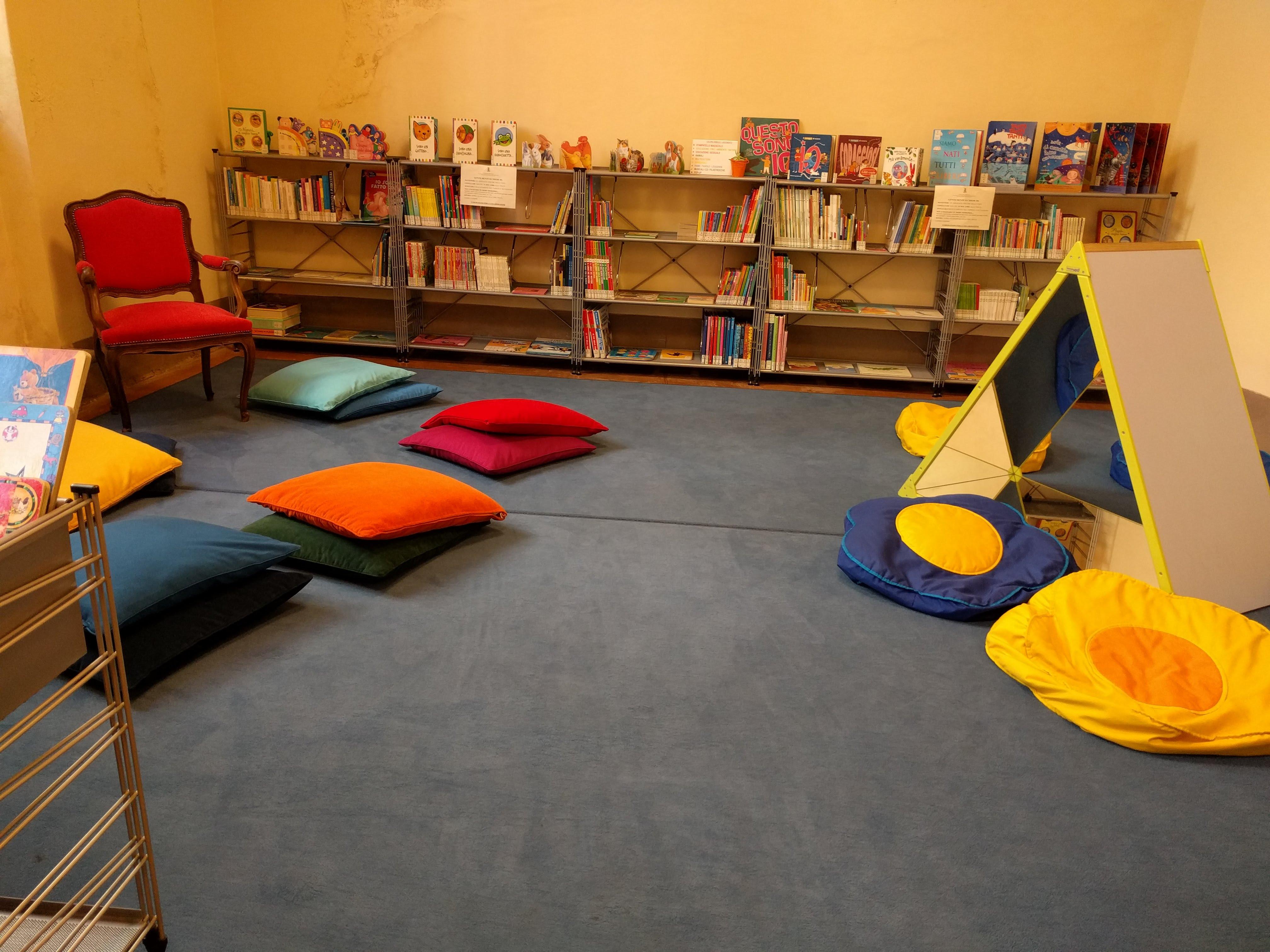 Biblioteca Vercelli bambini