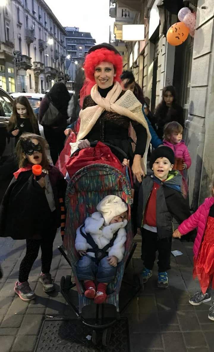 Alessandra Duglio con i suoi bambini